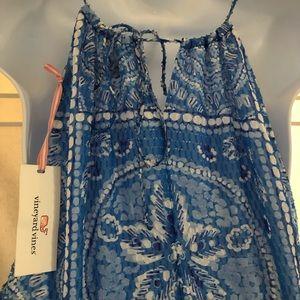 Vineyard Vines Dresses - Vineyard Vines size 16 maxi dress sanddollar print